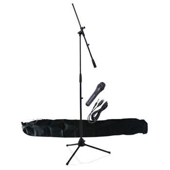 NJS Professional Complete Microphone & Stand Kit with Carry Bag [ NJSKIT10 ]