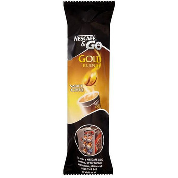 Nescafe and Go Gold Blend White Coffee Pk 8 12033813