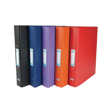 A4 Ring Binder 25mm 2xO Ring Asstd Pk10