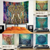 150*130cm polyester Bohemian Tapestry Mandala Beach Towels Hippie Throw Yoga Mat Towel Indian Polyester wall hanging Decor