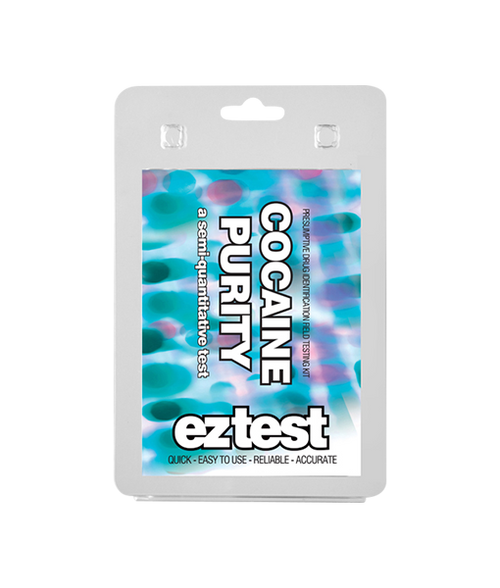 EZ Test Kit -  Cocaine Purity - 1pack