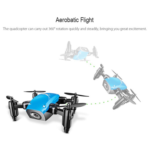 Mini Drone With Camera HD S9 No Camera Foldable RC Quadcopter Altitude Hold Helicopter WiFi FPV Micro Pocket