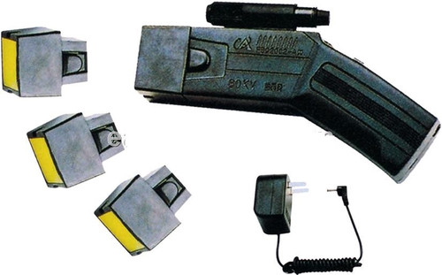 Tazer- with 3 cartridges.