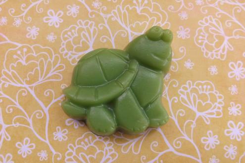 Green Apple Turtle Soap