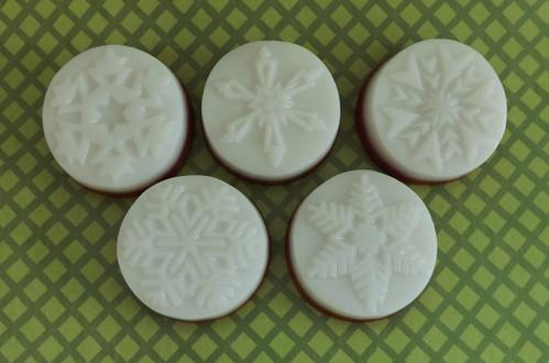 Peppermint Snowflake Soap Assortment