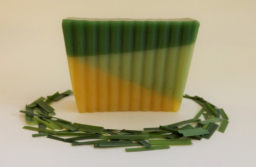 Smooth Lemongrass Soap Slice