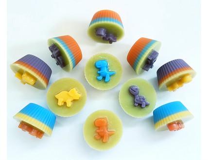 Dinosaur Soap Cupcake
