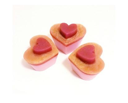 Heart Soap Cupcake