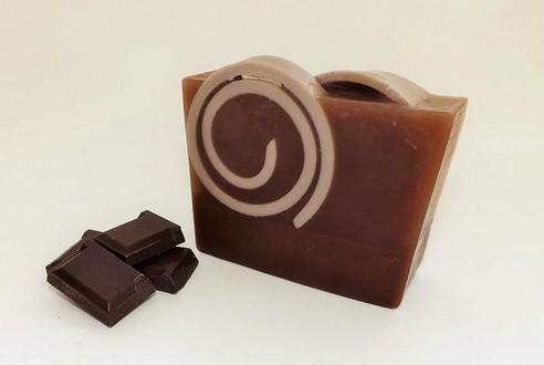 Chocolate Honey Swirl Bar Soap