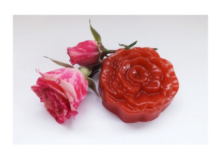 Small Red Rose soap
