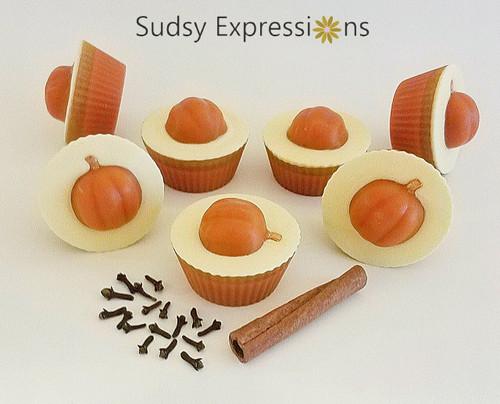 Pumpkin Soap Cupcake