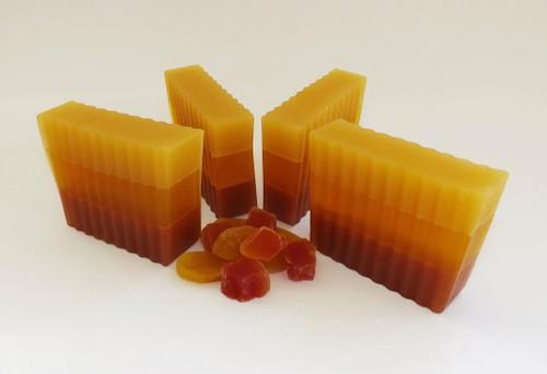 Mango Papaya Soap Slice