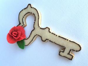 Decorated cookie by Judith Dunbar!  Judithdunbar.com