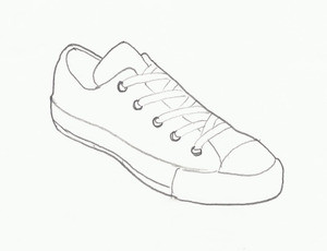 SNEAKER LOW TOP (ANGLE VIEW)