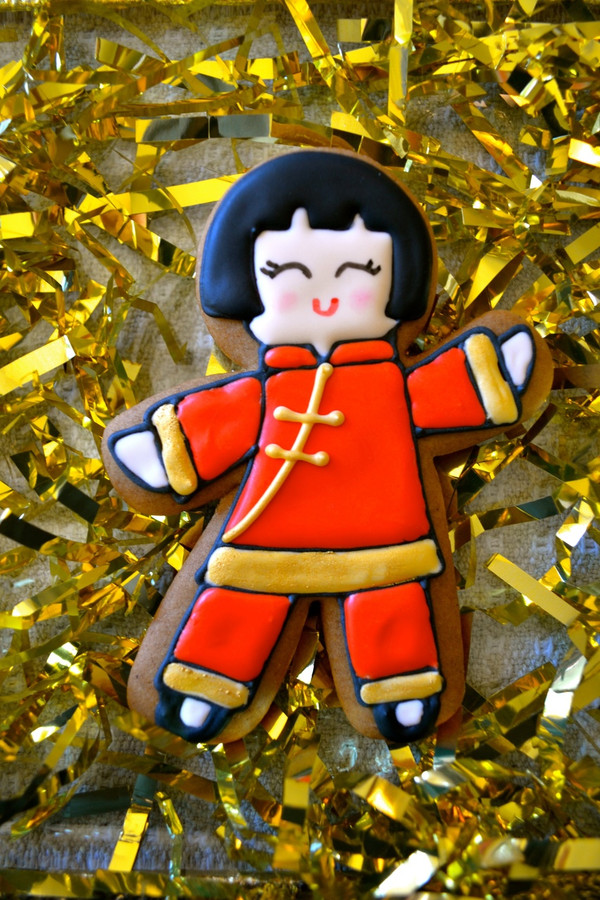 Decorated cookie by Nancy Cavagnaro