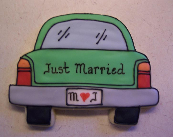 JUST MARRIED CAR A