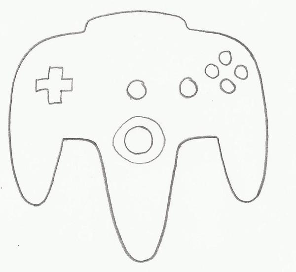 VIDEO GAME CONTROLLER D