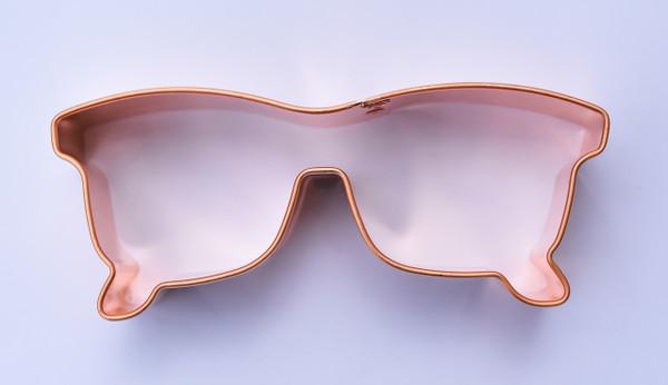 Sunglasses folded