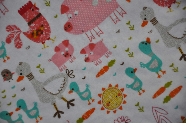 Farm Animal Baby Blanket