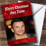 Peter Andre Customised Christmas Card