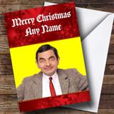 Mr Bean Customised Christmas Card