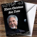 Tom Jones Customised Christmas Card