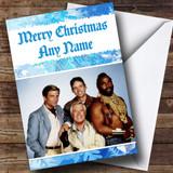 The A Team Customised Christmas Card