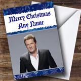 Piers Morgan Customised Christmas Card
