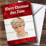 Niall Horan Customised Christmas Card