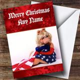 Miss Piggy Customised Christmas Card