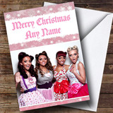 Little Mix Customised Christmas Card