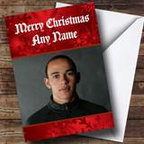 Formula Lewis Hamilton Customised Christmas Card