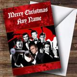 James Bond Customised Christmas Card