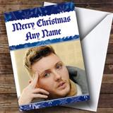 James Arthur Customised Christmas Card