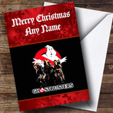Ghostbusters Customised Christmas Card