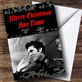 Elvis Presley Customised Christmas Card