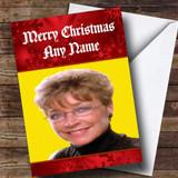 Funny Deirdre Barlow Customised Christmas Card