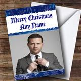 Dermot O'Leary Customised Christmas Card