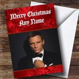 Daniel Craig Customised Christmas Card