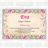 Eva Name Meaning Magnet Floral