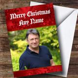 Alan Titchmarsh Customised Christmas Card