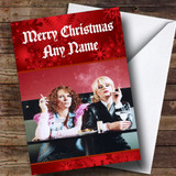 Absolutely Fabulous / Ab Fab Customised Christmas Card