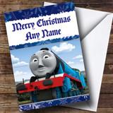 Thomas The Tank Engine Gordon Customised Christmas Card