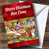 Snow White Customised Christmas Card