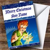 Peter Pan Customised Christmas Card