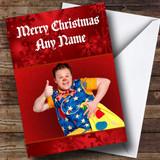 Mr Tumble Customised Christmas Card