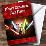 Lego Star Wars Customised Christmas Card
