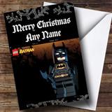 Lego Batman Customised Christmas Card