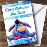 Eeyore Customised Christmas Card