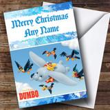 Dumbo Customised Christmas Card